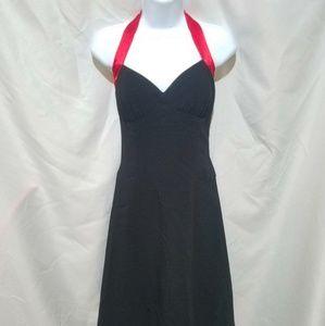 Taboo black halter dress